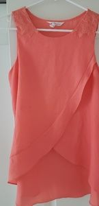 BCBGeneration High/low draped top
